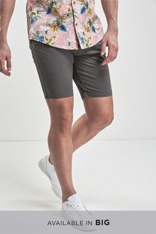 Next Slim Stretch Chino Shorts