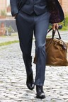 Next Textured Suit: Trousers- Slim Fit