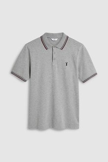 Next Stretch Tipped Polo- Regular Fit