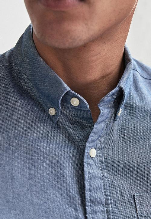 Next Short Sleeve Oxford Shirt
