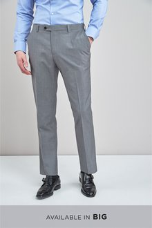 Next Signature Plain Suit: Trousers-Regular Fit - 240229