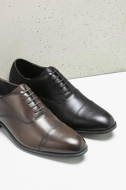Next Toe Cap Oxford Shoe