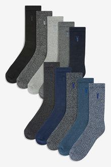 Next Heavyweight Socks Ten Pack