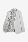 Next Stretch Marl Suit: Jacket- Slim Fit