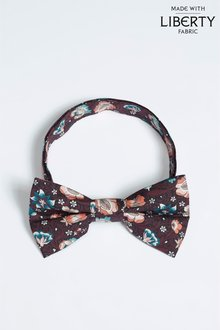 Next Liberty Fabrics Forest Road Bow Tie