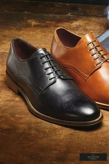 Next Signature Plain Derby Shoe - 240300