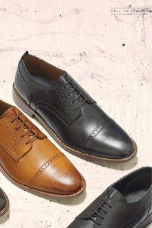 Next Contrast Sole Toe Cap Shoe
