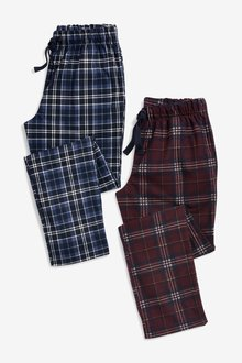 Next Check Cosy Pyjama Bottoms Two Pack