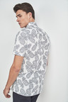 Next Short Sleeve Pineapple Print Shirt