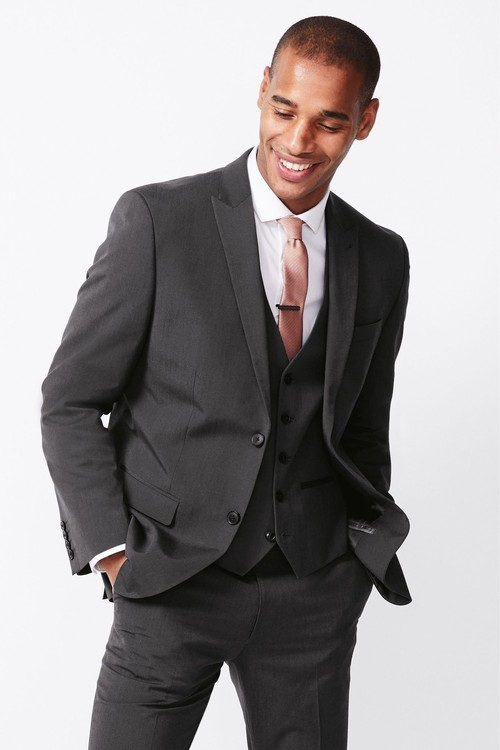Next Two Button Suit: Jacket- Super Skinny Fit
