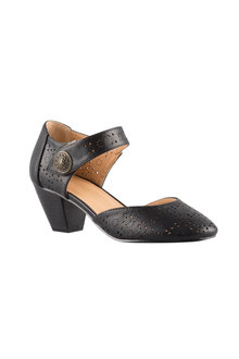 Sara Wide Fit Wendelin Court Heel