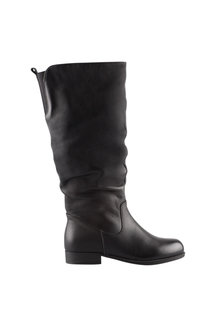 Wide Fit Mia Leather Leg Boot - 240452