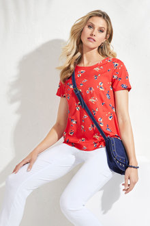 Euro Edit Printed Top - 240461