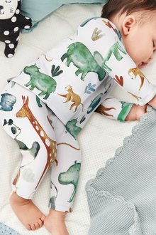 Next Animal T-Shirt And Leggings Set (0mths-2yrs)