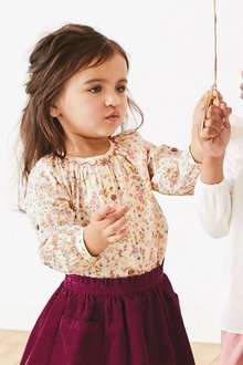 Next Roll Sleeve Blouse (3mths-7yrs)