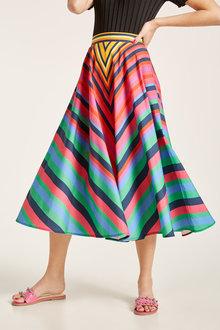 Heine Rainbow Circle Skirt - 240544