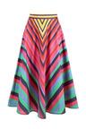Heine Rainbow Circle Skirt