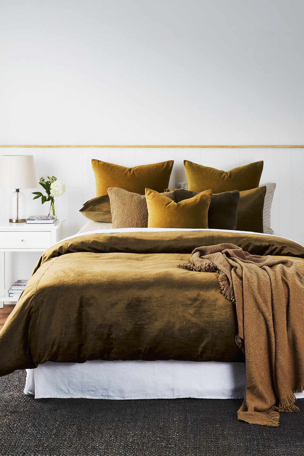 Berkeley Velvet Duvet Cover Set Online Shop Ezibuy