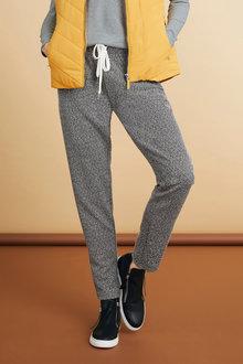 Capture Sporty Tweed Pull On Pants - 240592