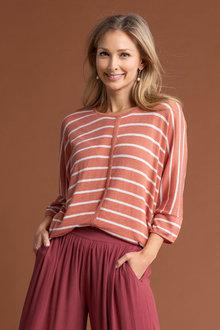 Capture Stripe Lightweight Knit - 240594