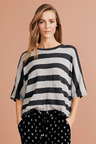 Capture Drapey Stripe Knit