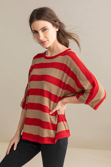 Capture Drapey Stripe Knit - 240595