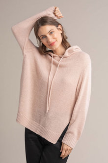 Capture Hooded Knit Sweater