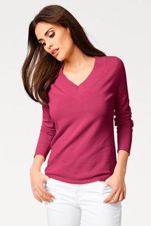 Capture V Neck Sweater - 240603