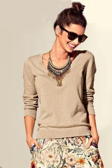 Capture Scoop Neck Sweater - 240604