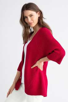 Capture Rib Knit Cardigan