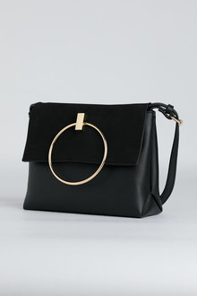 Clara Ring Detail Shoulder Bag - 240650