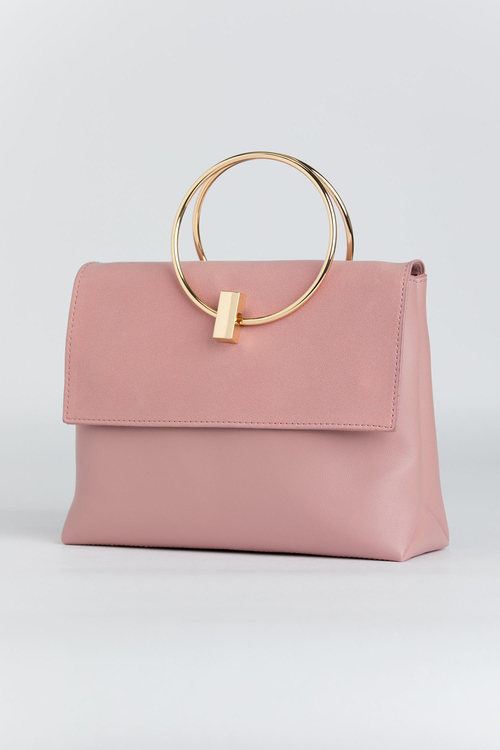Clara Ring Detail Shoulder Bag