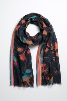 Abstract Floral Scarf - 240661