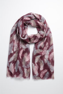 Feather Scarf - 240670