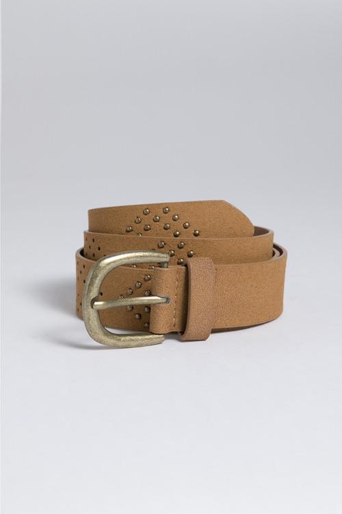 Stud Detail Perforated Belt
