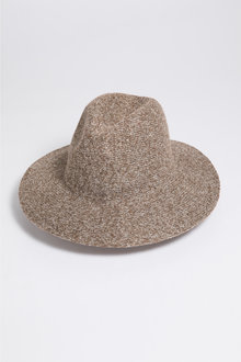 Knit Panama Hat