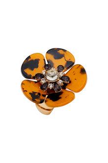 Amber Rose Flora Tort Ring