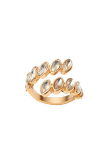 Amber Rose Cascade Ring