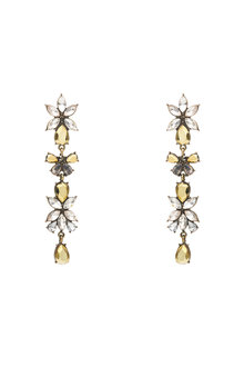 Amber Rose Stoneset Earrings