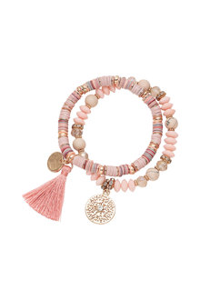 Amber Rose Assorted Bracelet - 240744