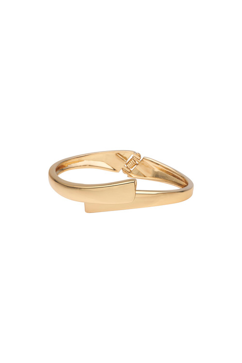 Amber Rose Huggie Bangle