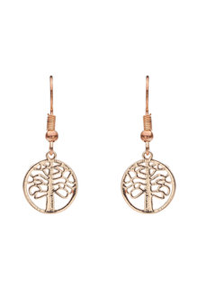 Amber Rose Tree Top Earring
