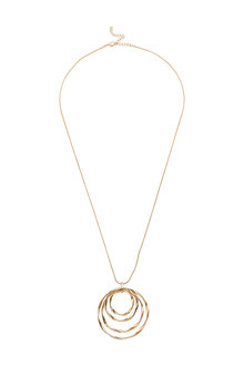 Amber Rose Holo Necklace - 240772