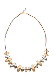 Amber Rose Flinstones Necklace - 240774