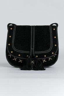 Cara Suede Crossbody Bag - 240780
