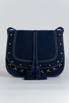 Cara Suede Crossbody Bag