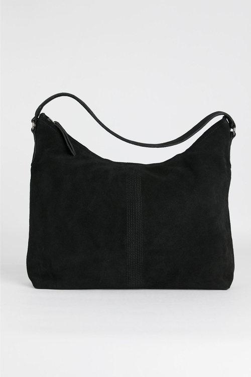 Suede Hobo Bag