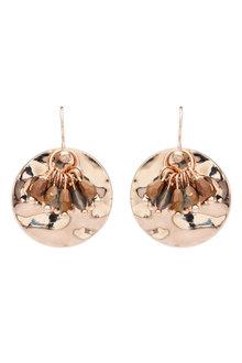 Amber Rose Paradise Circle Earrings