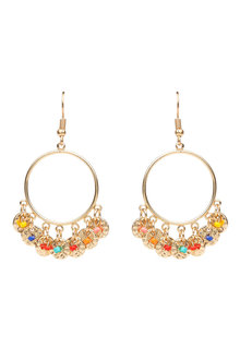 Amber Rose Lucy Earrings - 240805