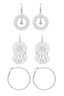 Amber Rose Boho Earring Set